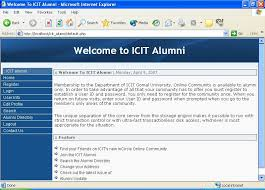 alumni directory software icit alumni by farhan amin from psc cd