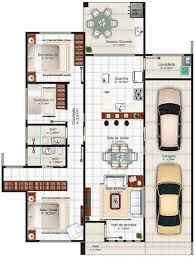 House Plans For Small Lots by Small House Designs To Small Lots With Free Floor Plans And Layout