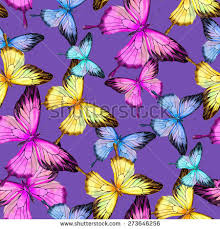 vector watercolor butterfly ulysses butterfly papilio stock vector