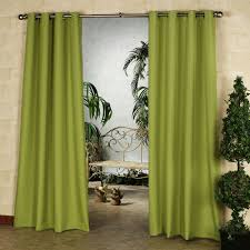 Curtains With Green Interior Delightful Green Curtain With Looking Tree