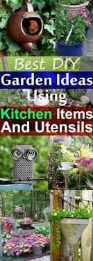 Diy Garden Ideas 19 Best Diy Garden Ideas Using Kitchen Items Utensils Balcony