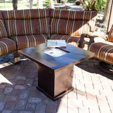 alderbrook faux wood fire table coffee table with fire pit awesome alderbrook faux wood fire table