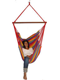 Hanging Chair Hammock Brazilian Hanging Chair Brazilian Cotton Fabric Hammock Chair With