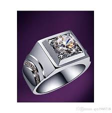 jewelry diamonds rings images 2018 new arrival promotion silver men jewelry ring 2ct platinum jpg