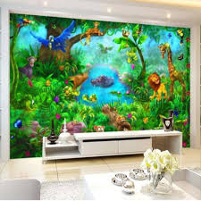 online get cheap wall paper particles aliexpress com alibaba group 3d carton wall mural photo wallpaper for kids bedroom living room wall paper sticker papel de