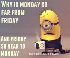 Monday School Meme - cute friday minions funny captions 10 33 59 am friday 06