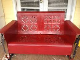 Vintage Patio Furniture Metal by 68 Best Vintage Porch Gliders Images On Pinterest Vintage Porch