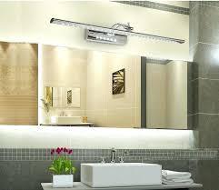 Modern Light Fixtures For Bathroom Bathroom Light Fixtures Led Bathroom Mirror 5 Light Fixture Set