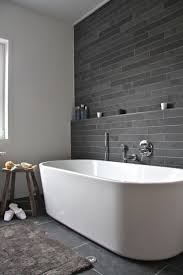 Dark Grey Accent Wall by Best 25 Bathroom Feature Wall Ideas On Pinterest Freestanding