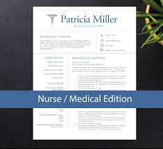 Oncology Nurse Resume Example Nurse Resume Template For Word A4 U0026 Letter Nursing Resume 1 2
