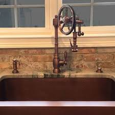 waterstone kitchen faucets past and future meet in steunk decor industrial kitchens