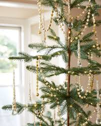 Gold Beaded Garland For Christmas Tree