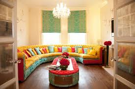 Sofa Sets Designs And Colours Interior Beautiful Half Round Colourful Sofa Set For Living Room