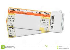 concert tickets stock image image of empty entrance 38680479