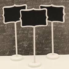 Wedding Buffet Signs by Chalkboard Stands 3 White Wood Chalkboard Signs Candy Buffet