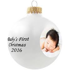 personalized christmas ornaments baby personalized photo glass ornament baby s christmas ornament
