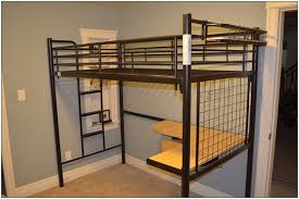 queen size loft bed frame ikea bedroom home decorating ideas