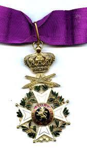 order of leopold commander with swords belgium