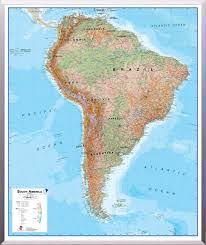 Map International Physical Map Of South America Lighten Physical 3d Map Of South