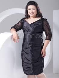 2014 style sheath dark navy chiffon plus size cocktail dress