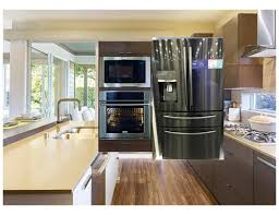 what color cabinets match black stainless steel appliances black stainless fridge with other ss appliances