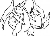 pokemon coloring pages charizard coloring pages free