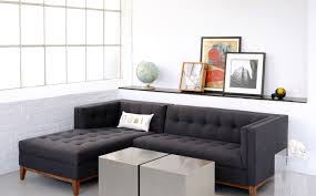 Curved Sectional Sofa With Chaise by Sofa Apartment Size Chairs With Regard To Apartment Size Sofas
