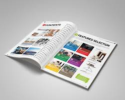 magazine template indesign 56 page layout v2 on behance