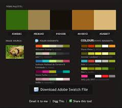 color scheme maker how to generate an adobe color swatch and transform it to xaml