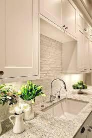 stacked kitchen backsplash backsplash tile stacked contemporary kitchen glass and