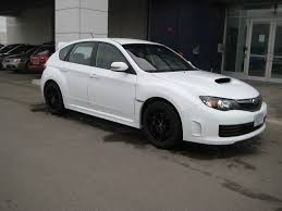 black subaru rims white 2008 sti with black oz ultraleggera rims 2 madwhips