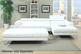 Modern Bonded Leather Sectional Sofa Modern Bonded Leather Sectional Sofa With Recliners White Bed 4087