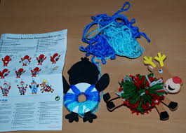 christmas decoration kits for the kids ofamily learning together