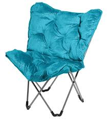 Turquoise Chair Amazon Com 3c4g Sparkle Butterfly Chair Fuchsia Kitchen U0026 Dining