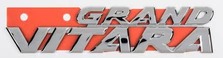 logo suzuki genuine suzuki emblem grand vitara jb420 77841 65j10 0pg badge