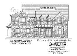moss stone cottage house plan house plans by garrell associates