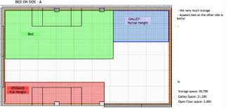 floor plans and bed design for van conversions cheap rv living com