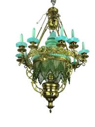 Opaline Chandelier Antique Chandelier For Sale Antique Furniture Silver And More