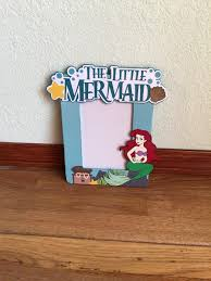 picture frame ooak ariel the little mermaid inspired picture