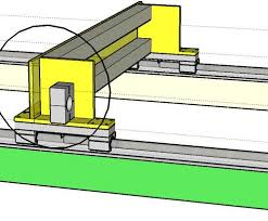 build log diy build of aluminium cnc wood router without workshop