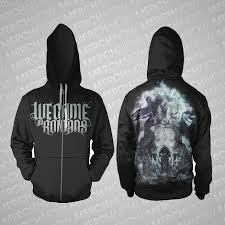 metal band sweaters we came as romans album hoodie band merch