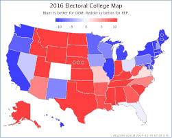2016 Presidential Map Abulsme Com Electoral College The Race Begins