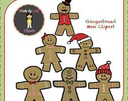 christmas cookies clipart gingerbread man clip art holiday
