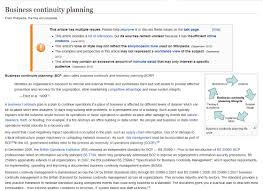 disaster recovery and business continuity plan template business