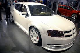 sema 2007 dodge avenger stormtrooper photo gallery autoblog