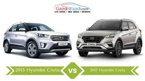 nissan terrano vs renault duster 2017 hyundai creta vs 2015 creta key differences