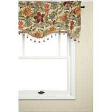 Waverly Valance Lowes Shop Waverly 14 In L Garnet Home Classics Scalloped Valance At