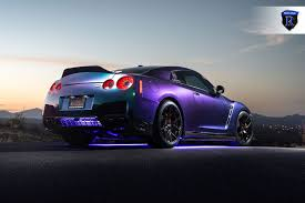 nissan purple deadly venomous snake purple gt r by rohana wheels u2014 carid com