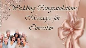 wedding messages to wedding congratulations message coworker jpg