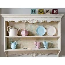 Kitchen Wall Shelving Units White Wall Shelf Display Cabinet Unit Kitchen Mesh Door Shabby